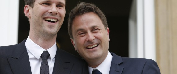 Luxembourg Prime Minister Xavier Bettel and Gauthier Destenay marriage